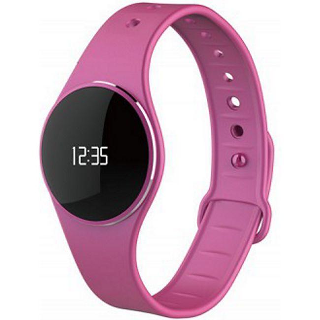 MYKRONOZ ZeCircle Fitnessband Tracker Uhr pink - Bild 1