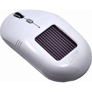 ELIVE Light 2.4G Solar Wireless Mouse weiss - Bild 1