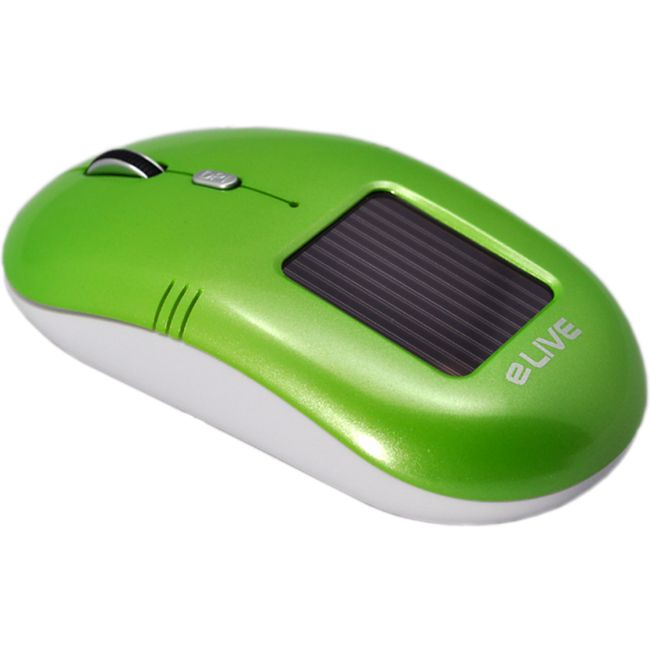 ELIVE Light 2.4G Solar Wireless Mouse grün - Bild 1