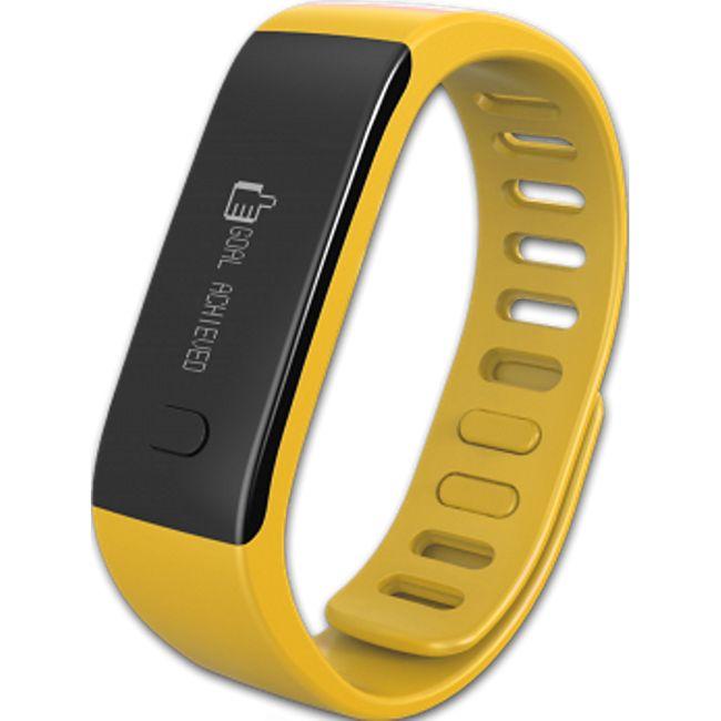 MYKRONOZ ZeFit Fitnessband Tracker Uhr gelb - Bild 1