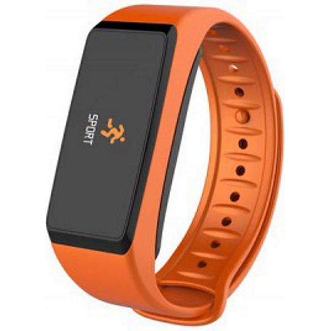 MYKRONOZ ZeFit2 Pulse Activity Tracker orange-schw - Bild 1