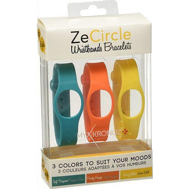 MYKRONOZ ZeCircle 3er Set Extra Armband Colorama - Bild 1