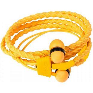 wraps Armband in-ear Kopfhörer orange mit Mikro - Bild 1