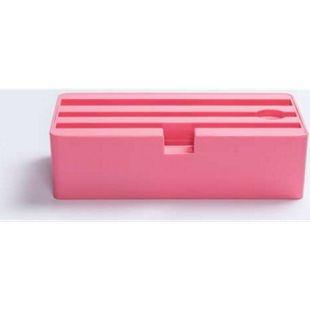 ALLDOCK D-DOCK Ladestation 4 Geräte pink ohne Netzteil - Bild 1