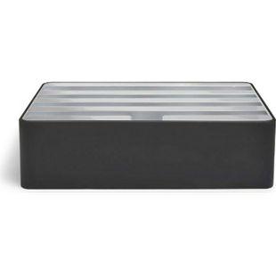 ALLDOCK Medium Black / Silver - Bild 1