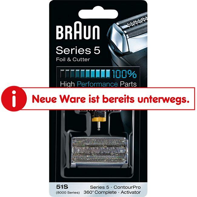Braun Scherkopf Ersatzscherkopf 8000 Kombipack 51s - Bild 1