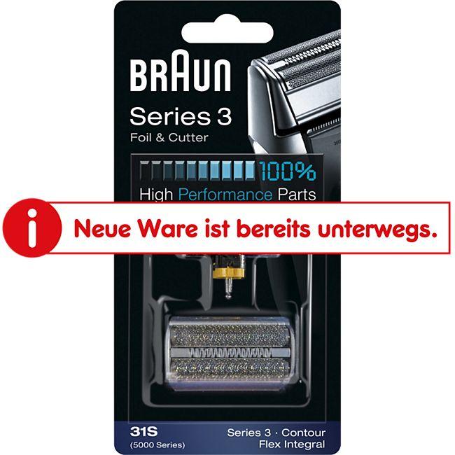 Braun Scherblatt Ersatzscherkopf Kombipack 31S - Bild 1