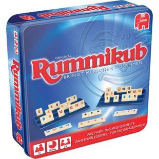 Jumbo Brettspiel Original Rummikub in Metalldose - Bild 1