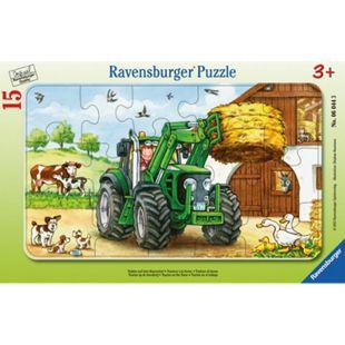 Ravensburger Puzzle Puzzle Traktor auf dem Bauernhof - Bild 1