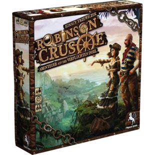 Pegasus Brettspiel Robinson Crusoe - Abenteuer auf der Verfluchten Insel - Bild 1