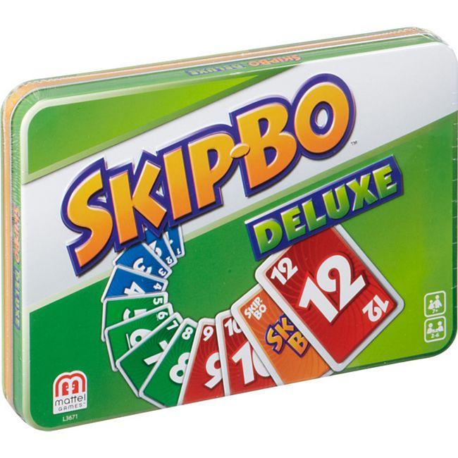 Mattel Kartenspiel Skip-Bo Deluxe - Bild 1