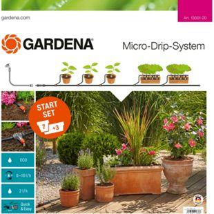 GARDENA Tropfsystem Start-Set Pflanztöpfe M - Bild 1