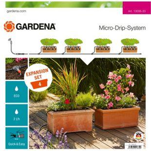 GARDENA Erweiterungsmodul Micro-Drip-System Erweiterungsset Pflanztröge - Bild 1