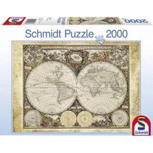 Schmidt Spiele Puzzle Historische Weltkarte - Bild 1