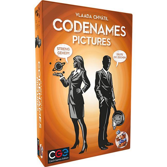 Asmodee Kartenspiel Codenames Pictures - Bild 1