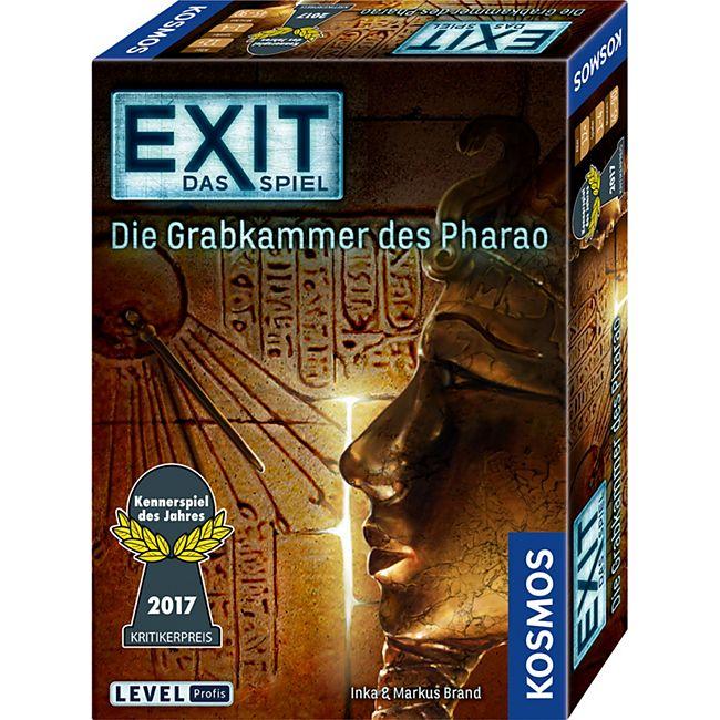 Kosmos Partyspiel EXIT - Das Spiel - Die Grabkammer des Pharao - Bild 1