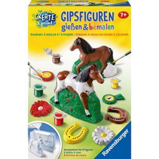 Ravensburger Basteln Gipsfiguren gießen & bemalen: Pferd - Bild 1