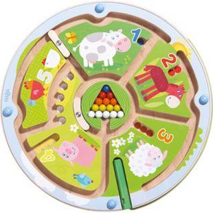 HABA Geschicklichkeitsspiel Magnetspiel Zahlenlabyrinth - Bild 1