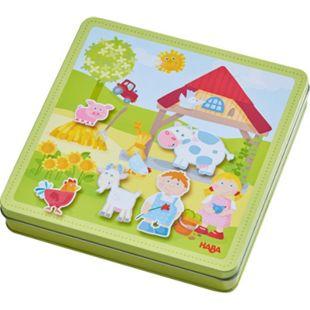 HABA Geschicklichkeitsspiel Magnetspiel-Box Peters und Paulines Bauernhof - Bild 1