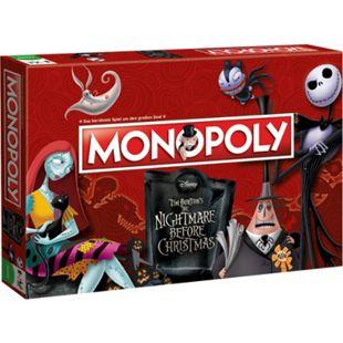 Winning Moves Brettspiel Monopoly Nightmare Before Christmas - Bild 1