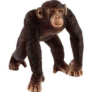 Schleich Spielfigur Schimpanse Männchen - Bild 1