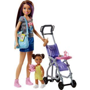 """Mattel Puppe Barbie """"Skipper Babysitters Inc."""" Puppen und Kinderwagen Spielset - Bild 1"""