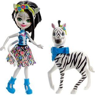 Mattel Puppe Themenpack Zelena Zebra - Bild 1