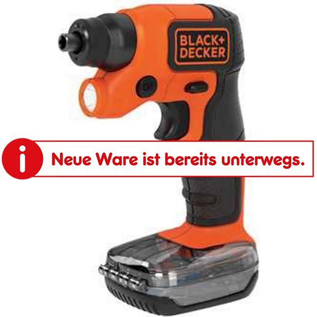 BLACK+DECKER Schrauber Blac Akkuschrauber BDCSFS30C-Q   3,6V - Bild 1