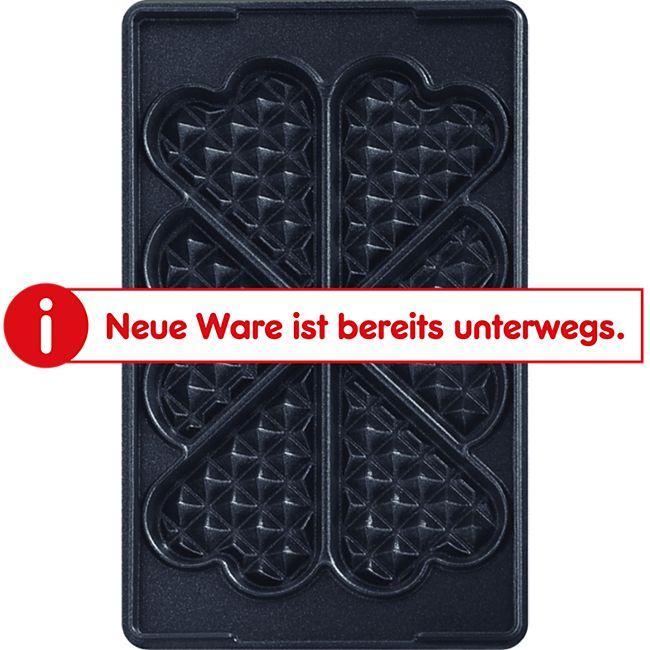 Tefal Grillplatte Snack Platten-Set Nr.6 Herzwaffeln - Bild 1