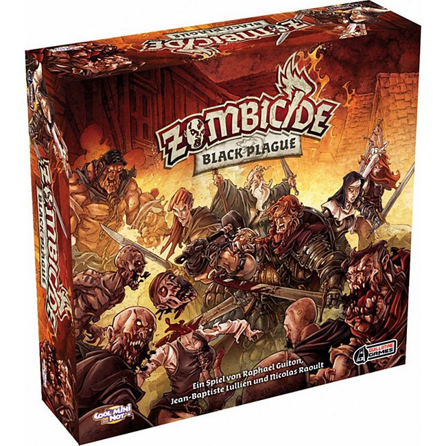 Asmodee Brettspiel Zombicide - Black Plague - Bild 1