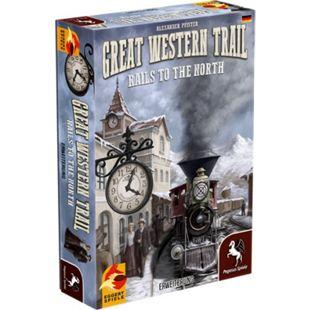 Pegasus Brettspiel Great Western Trail: Rails to the North - Bild 1