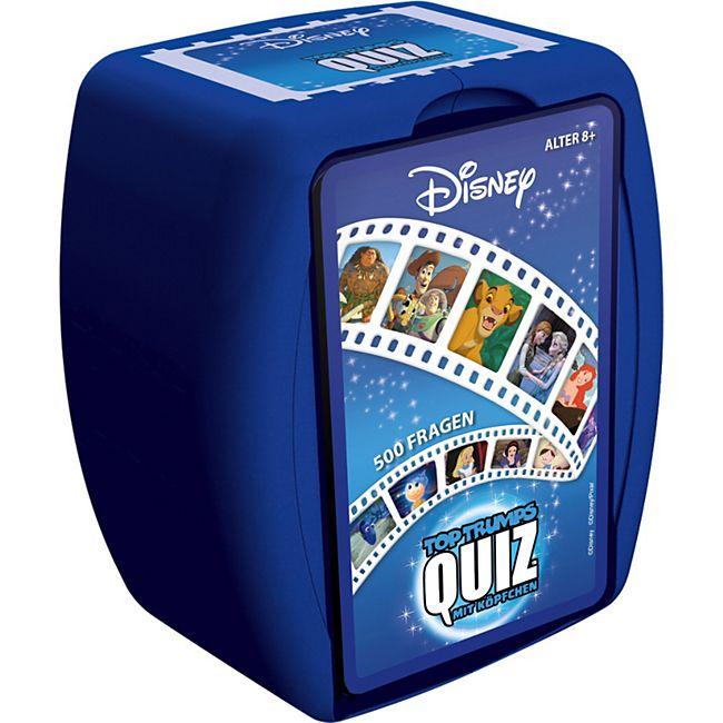 Winning Moves Quizspiel Top Trumps Quiz Disney - Bild 1