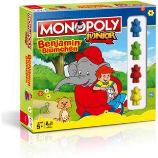 Winning Moves Brettspiel Monopoly Junior Benjamin Blümchen Collectors Edition - Bild 1