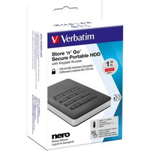 Verbatim Festplatte Store 'n' Go Secure 1 TB - Bild 1