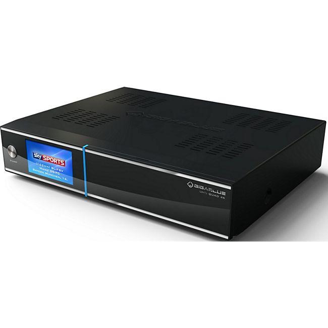 GigaBlue Sat-Receiver UHD Quad 4K + Single DVB-S2X Tuner - Bild 1