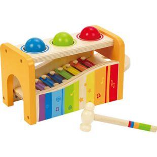 HAPE Musikspielzeug 2in1 Xylophon und Hammerspiel - Bild 1