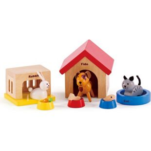 HAPE Puppenzubehör Haustiere - Bild 1