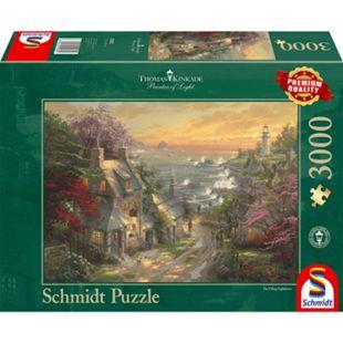 Schmidt Spiele Puzzle Dörfchen am Leuchtturm - Bild 1