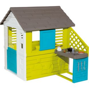 Smoby Gartenspielgerät Pretty Spielhaus mit Sommerküche - Bild 1