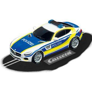 """Carrera Rennwagen GO!!! Mercedes-AMG GT Coupé """"Polizei"""" - Bild 1"""