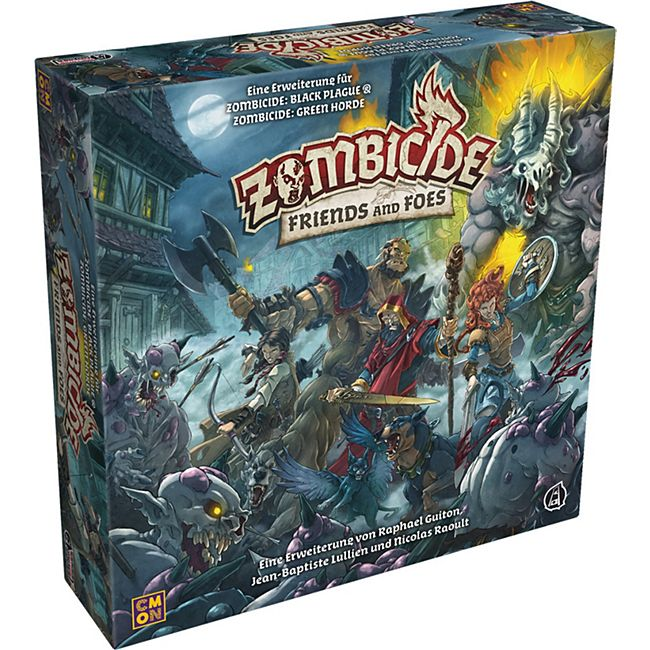 Asmodee Brettspiel Zombicide: Green Horde Friends and Foes - Bild 1