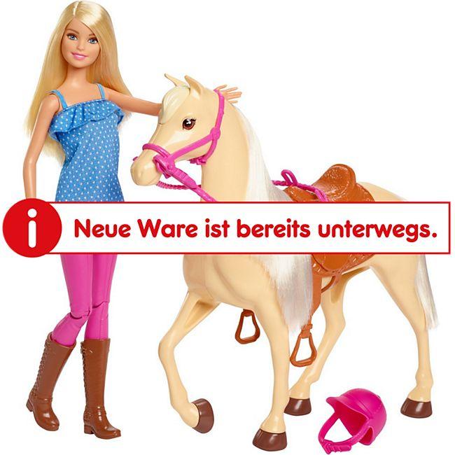 Mattel Puppe Barbie Pferd & Puppe - Bild 1
