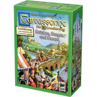 Asmodee Brettspiel Carcassonne - Brücken, Burgen und Basare - Bild 1