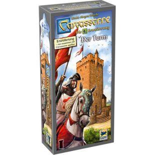 Asmodee Brettspiel Carcassonne - Der Turm - Bild 1