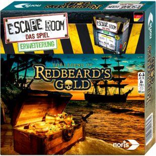 Noris Partyspiel Escape Room: Redbeards Gold - Bild 1