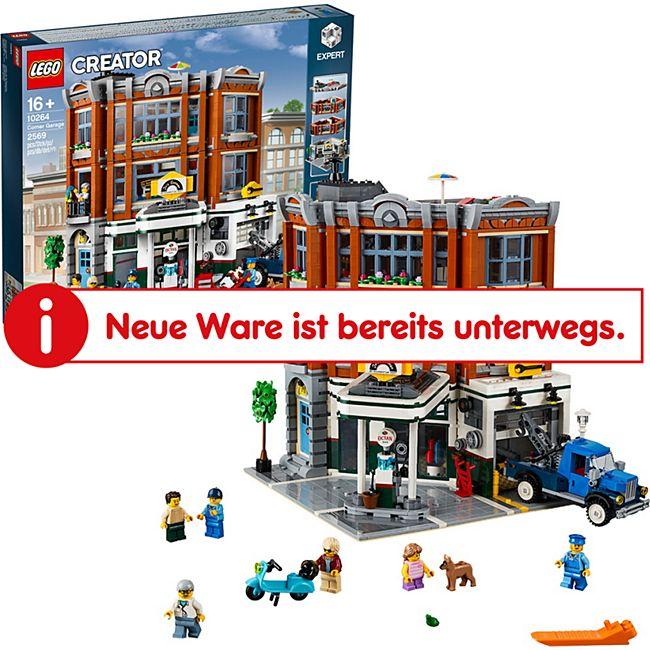 LEGO Konstruktionsspielzeug Creator Expert Eckgarage - Bild 1