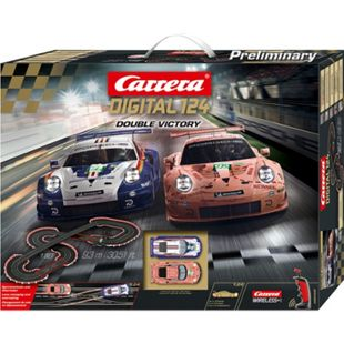 Carrera Rennbahn DIGITAL 124 Double Victory - Bild 1