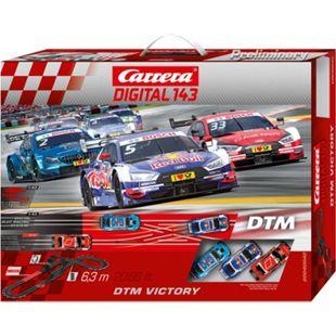 Carrera Rennbahn DIGITAL 143 DTM Victory - Bild 1