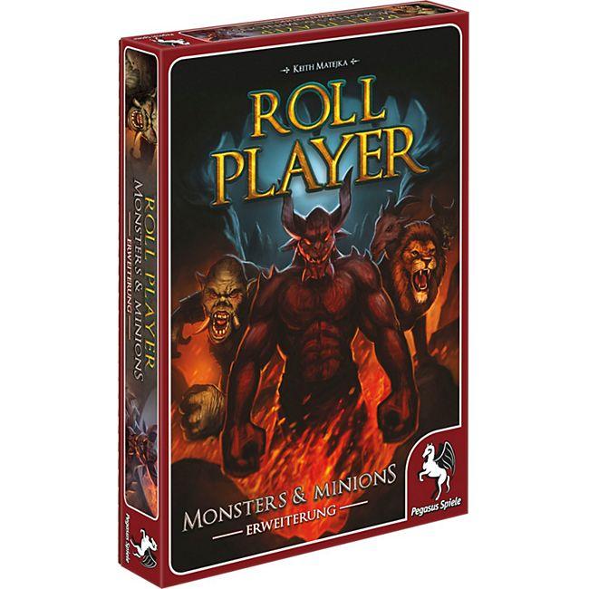 Pegasus Brettspiel Roll Player: Monster & Minions Erweiterung - Bild 1