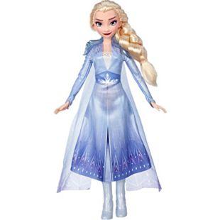 Hasbro Puppe Die Eiskönigin 2 - Elsa Puppe mit langem blondem Haar und blauem Outfit - Bild 1